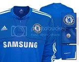 Chelsea FC Adidas 2009-10 Home Kit Long Sleeve