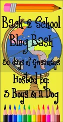 Back 2 School Blog Bash