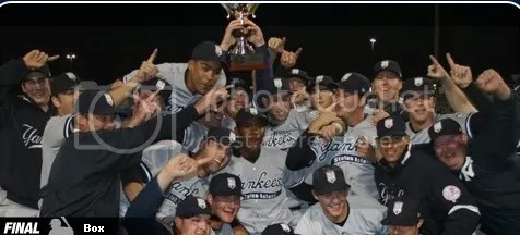 Neil Medchill drove in the go-ahead run as Staten Island won the fifth championship in team history and third in five years.