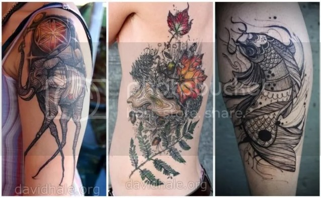 Pretty Things - Tattoos by David Hale