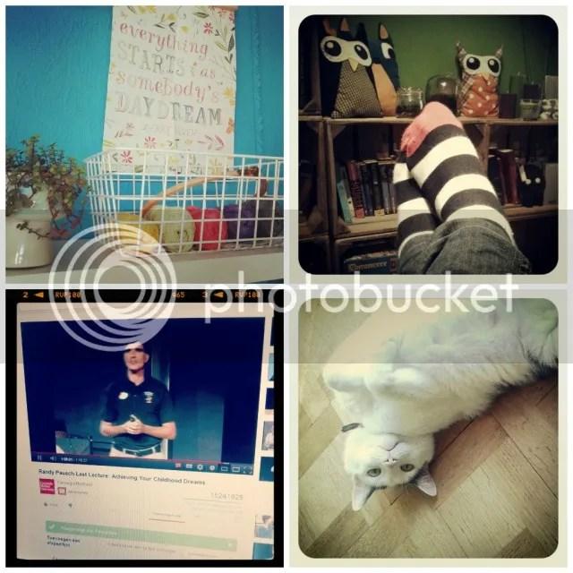 Vorige Week: Studio Sneak Peak - Rust! - Watching The Last Lecture - Mijn aandachtsgeile monster