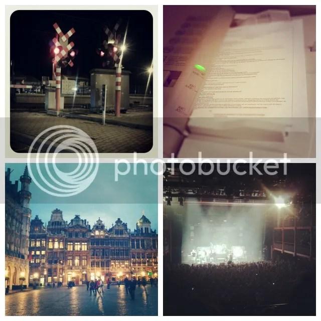 Vorige Week: Randop lichtjes - Kopies nemen - Brussels by Night - Sabaton optreden