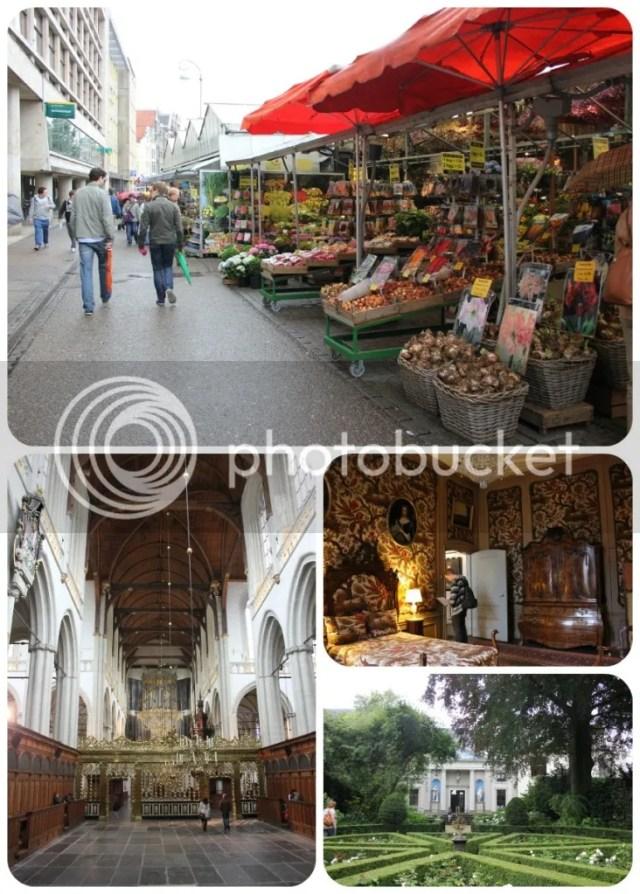 Amsterdam - Bloemenmarkt, Nieuwe Kerk & Museum Van Loon