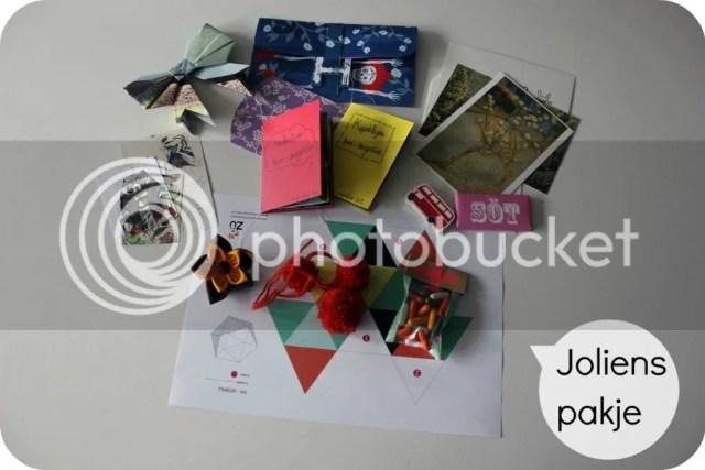 SWAP pakje voor Jolien