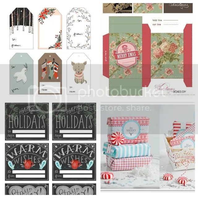 7 Days of Christmas - Freebies