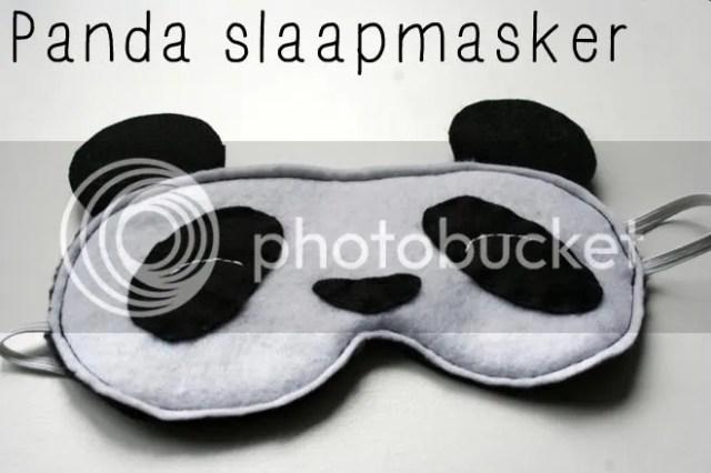 Tutorial - Panda Slaapmasker