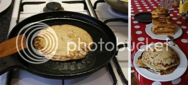 Vorige Week maakte ik Amerikaanse pannenkoeken & wentelteefjes