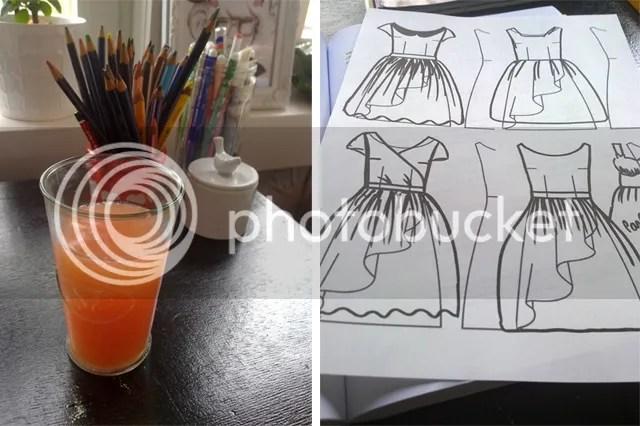 Pompelmoes & toekomstige kleedjes