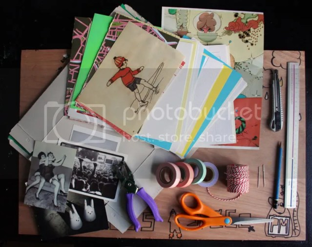 DIY Booklet - Materials