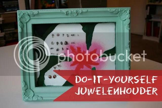 DIY Juwelenhouder