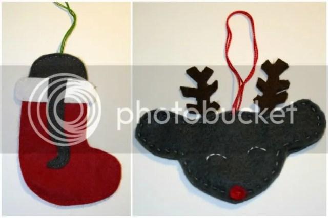 Tutorial Rattige Kersthangers - Ratje in Kerstsok + Ratje met gewei