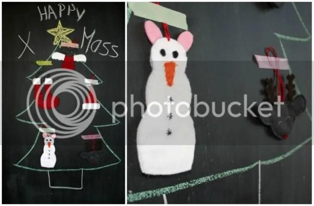 Tutorial Rattige Kersthangers - Afgewerkte kerstdecoratie