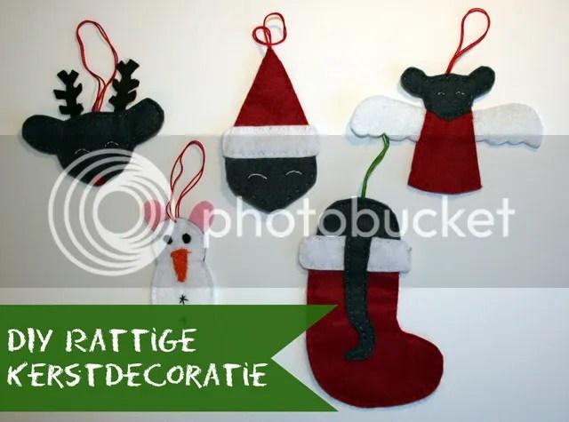 Tutorial - Handgemaakte rattige kerstdecoratie