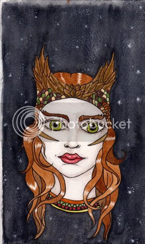 Owl girl finished