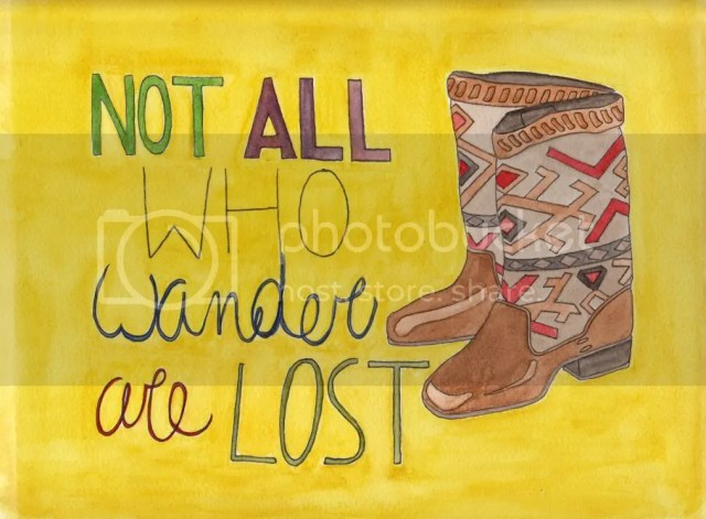 Not all who wander Finished