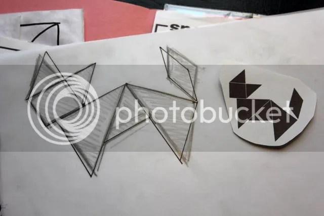 DIY Krimpplastiek Broche - tekenen