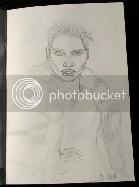 Sketchbook pt.12 - Modellen tekenen