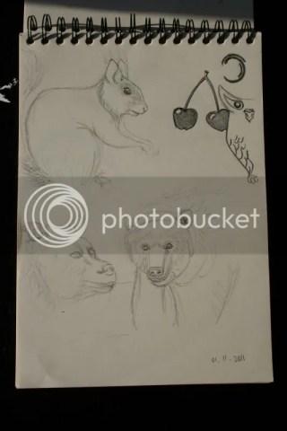 Sketchbook pr.11 - Bosbeesten