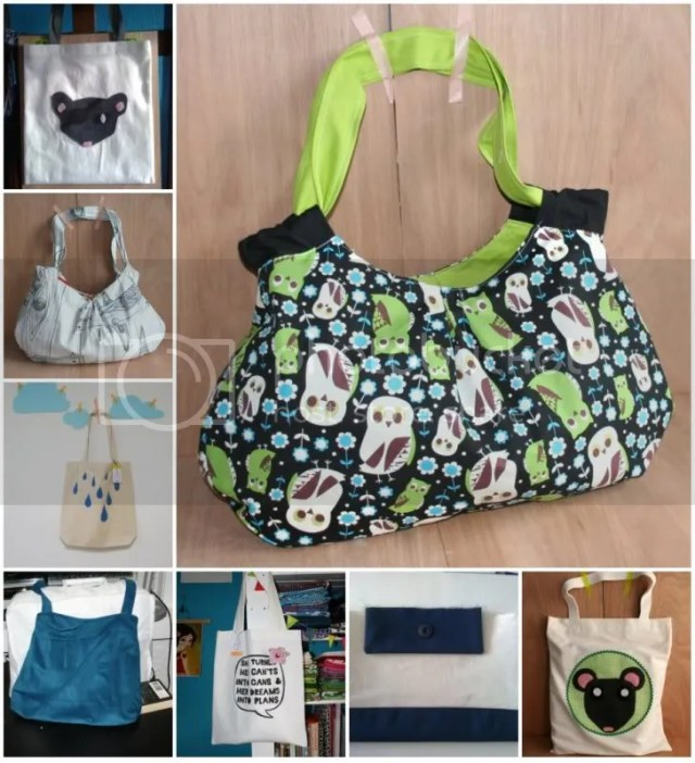 Nieuwe tassen