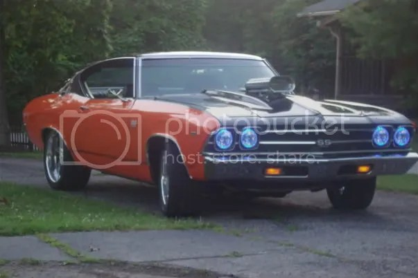 Chevelle Lights Halo 1971