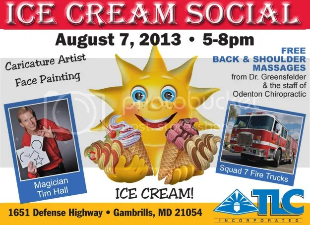 TLC Incorporated Ice Cream Social