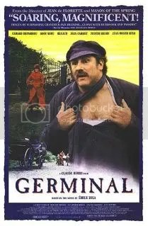 Germinal, cartaz do filme