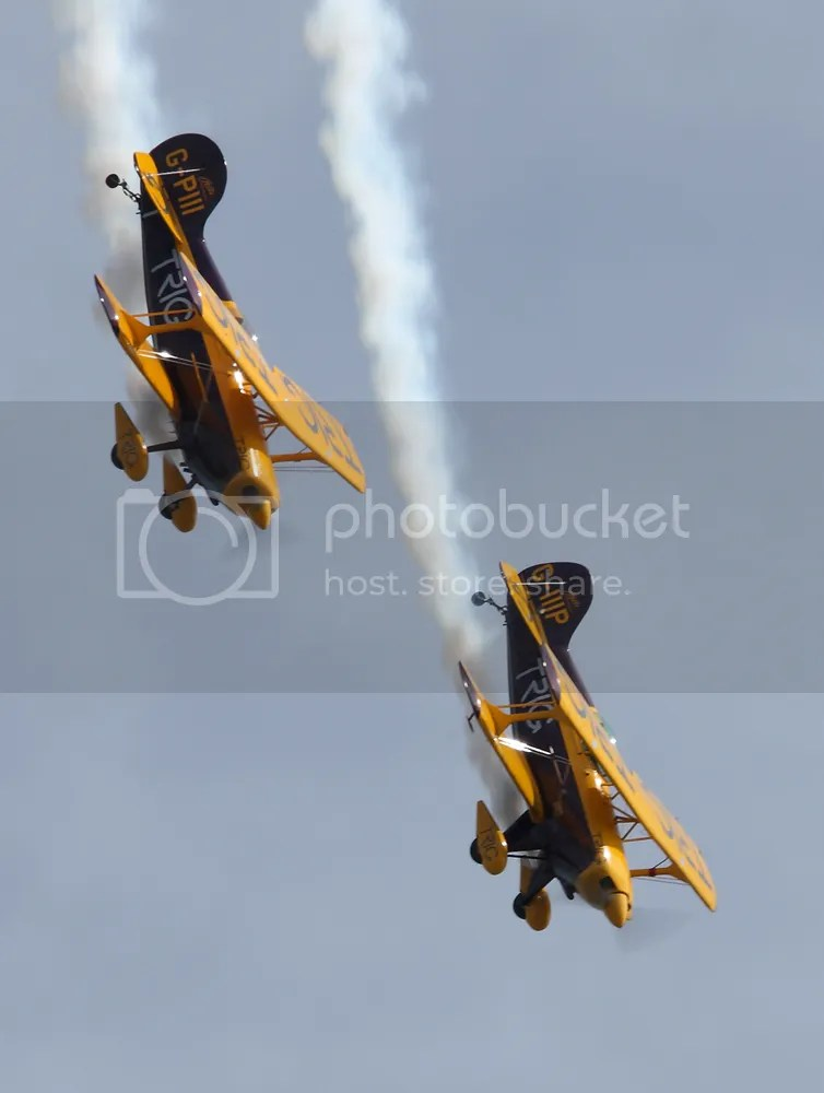 Pitts Special display team