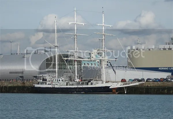 Lord Nelson tall ship