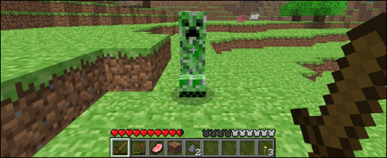 Un mythique creeper... SHHHH BOUUUUUM !