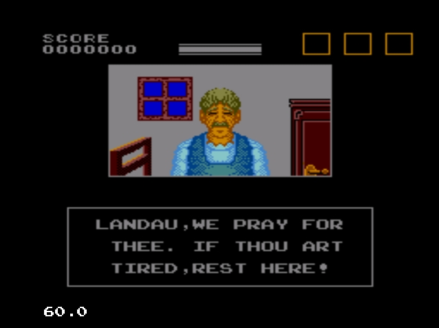 lord of the sword, Retrogame Story: Lord Of The Sword