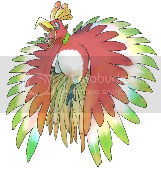 Ho-Oh Pictures, Images and Photos