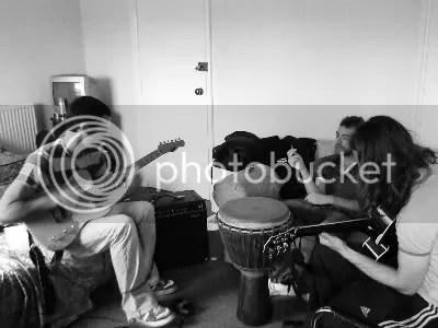 Enki - Reheasal 07-09-2009 - New Songs