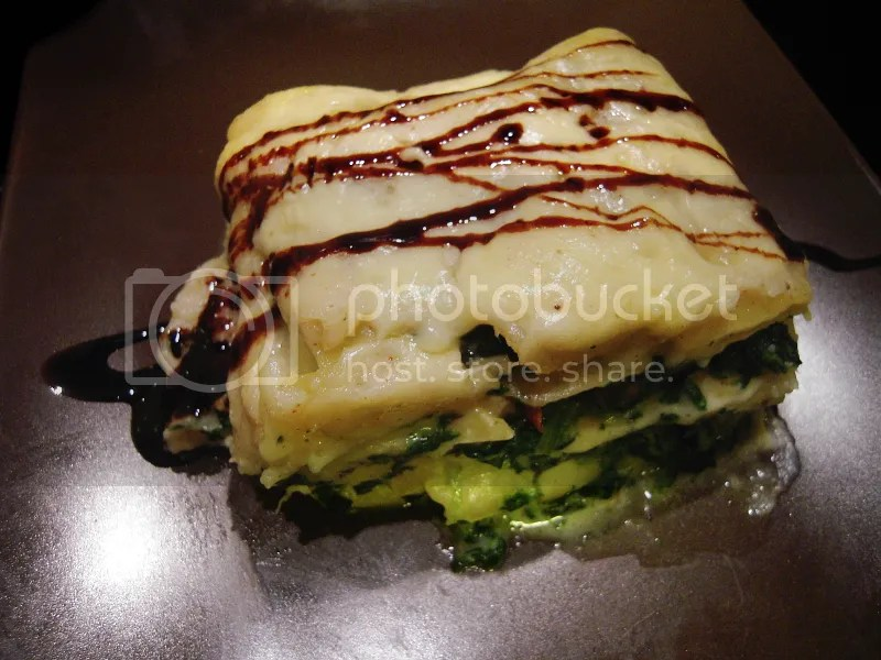 lasagne ze szpinakiem bez mięsa