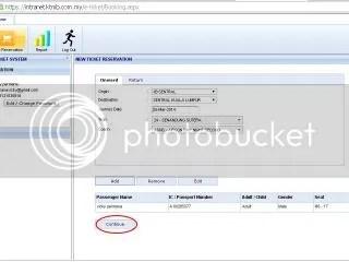 klik Continue, menuju layar pilihan metode pembayaran