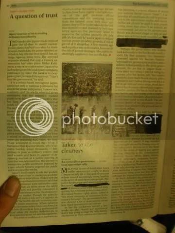 The Economist censored