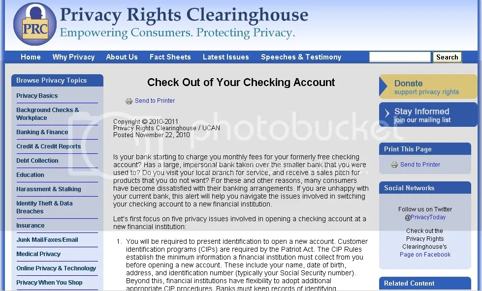 PrivacyRightsClearingHouse.com