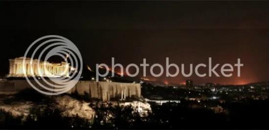 Incendio en Atenas 2009