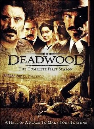 Deadwood DVD Poster, Season 1