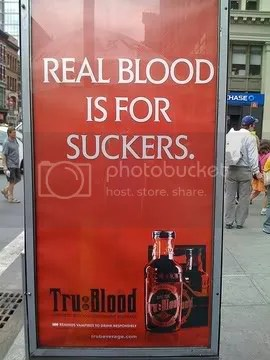 Real blood is for suckers