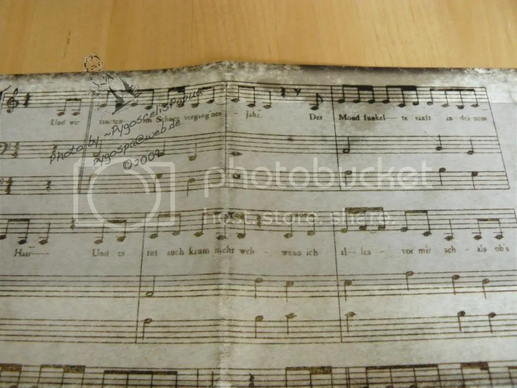 Notes of the song 'Und wir tanzten'