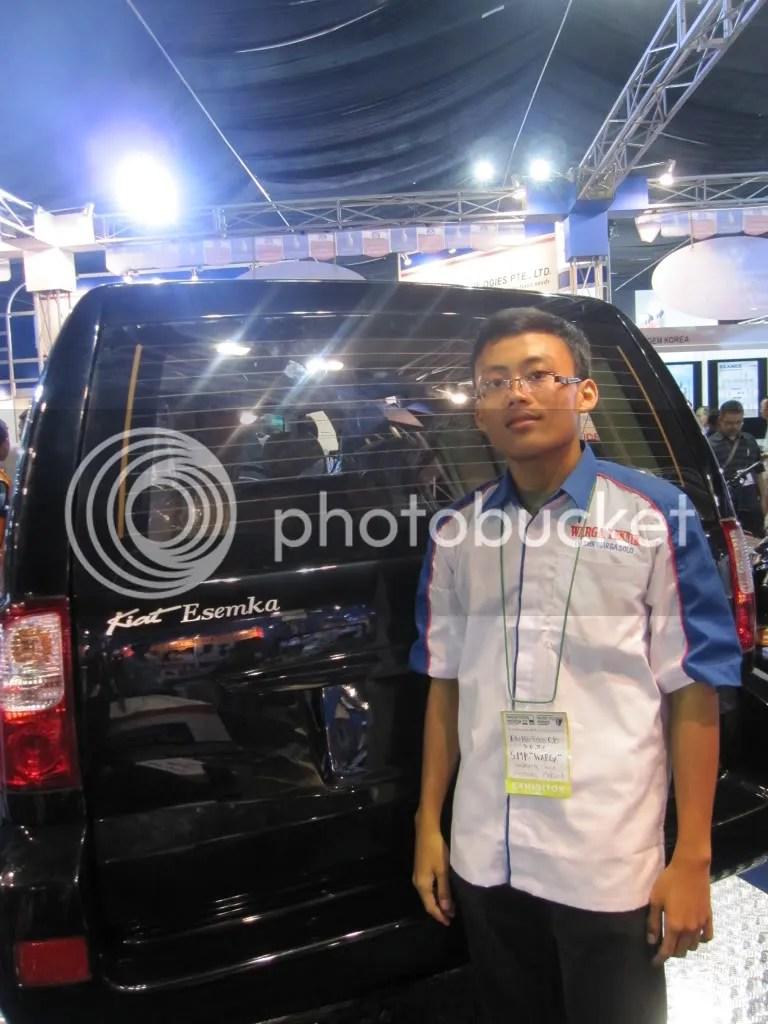 Eky dan Mobil Karya Anak SMK