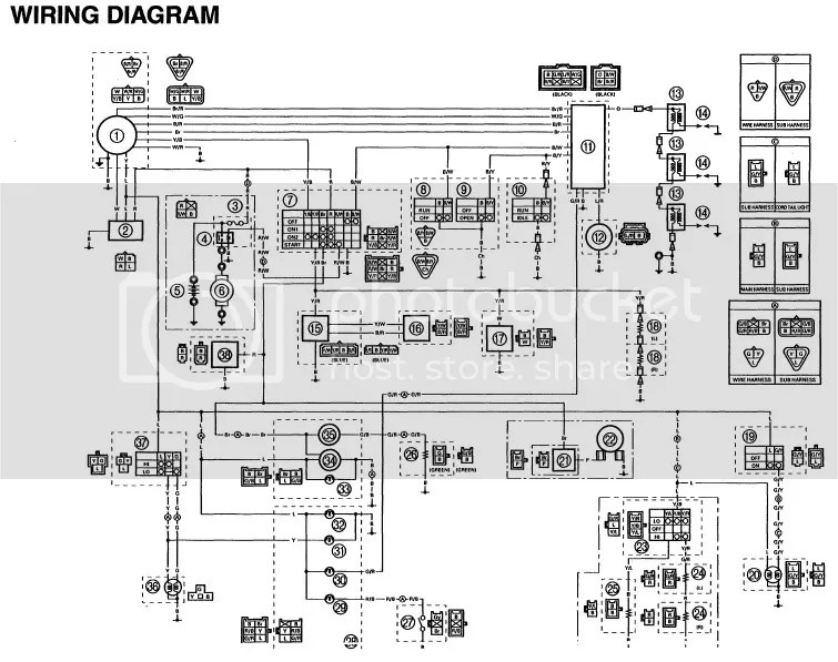 warrior 350 cdi wiring diagram  diagrams  auto fuse box