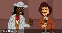Чич и Чонг / Укуренные / Cheech & Chong's Animated Movie (2013) HDRip