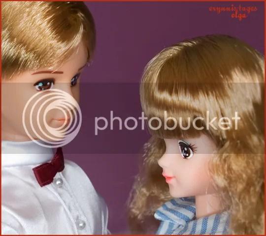 in love :) Japanese Barbie nad Ken (Ma-Ba barbie and ken dolls)