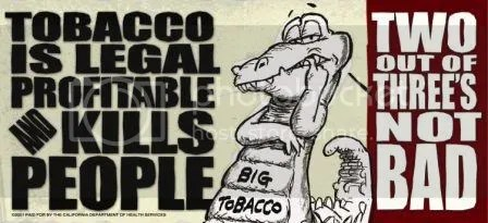 Tobacco kills people