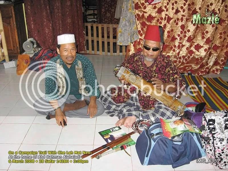 Tok Wakil Tn. Hj. Che Abdullah Mat Nawi and Alabaladi