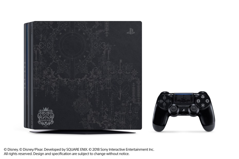 ps4 pro, PS4 Pro e Kingdom Hearts III insieme per un bundle magico