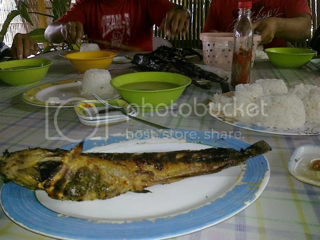 Roasted catfish in Tacurong