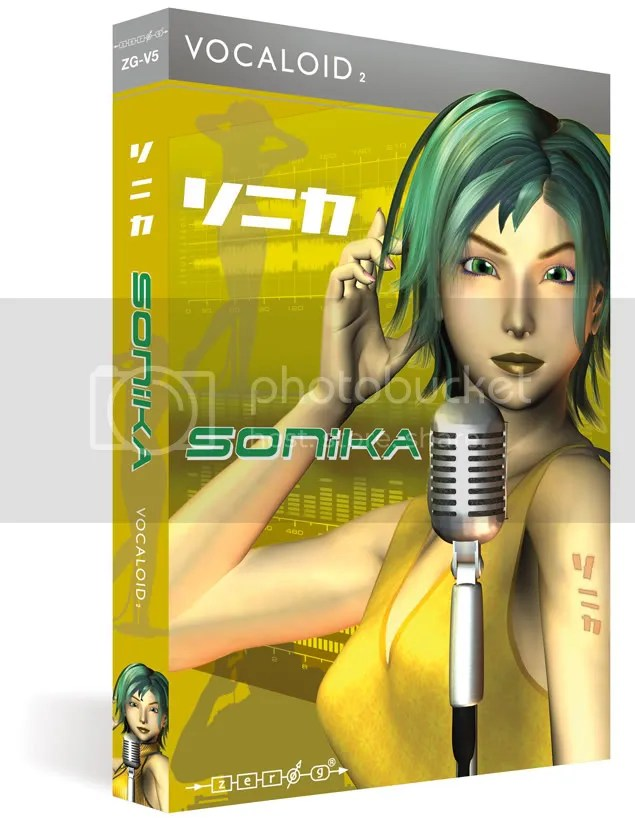 Sonika - The Latest Vocaloid2 Software By Zero-G Limited