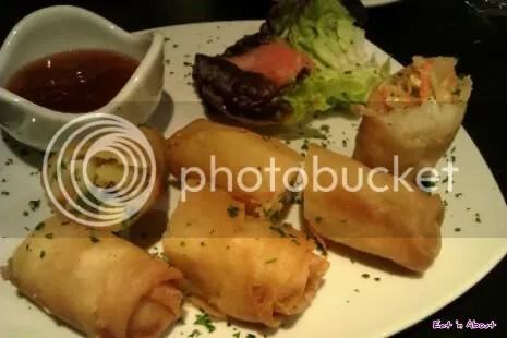 Eh! Restaurant: Vegetarian Spring Rolls